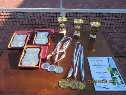 Начало на открития турнир по тенис на ВиК Видин