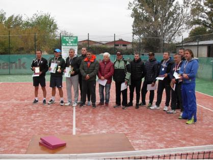 Приключи откритият турнир по тенис